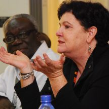 Sharan Burrow visit to the TUC-Ghana