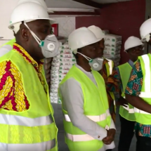 Finance Minister inspects renovation works on TUC building
