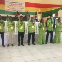 Communication Workers Union elects new National Executives