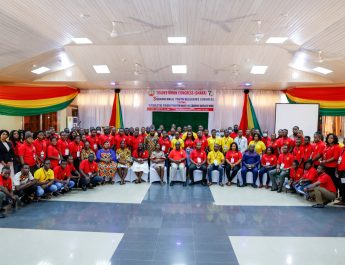 Newly Elected Officers of the National Youth Council of the Trades Union Congress of Ghana.